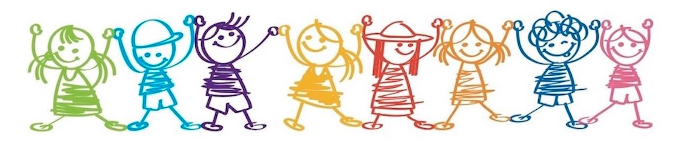 """Logo """"Festa delle bambine e dei bambini"""""""
