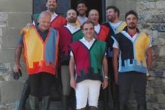 I cavalieri dei quattro rioni