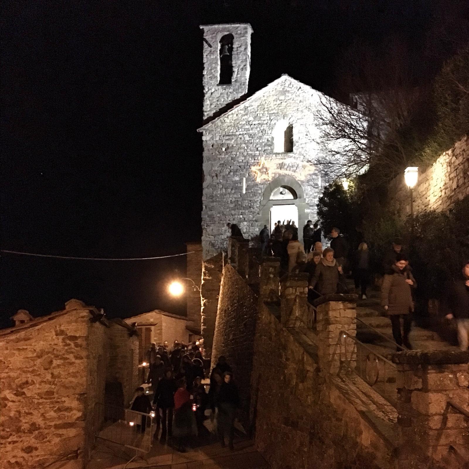 Termine della Santa Messa  nella Notte Santa