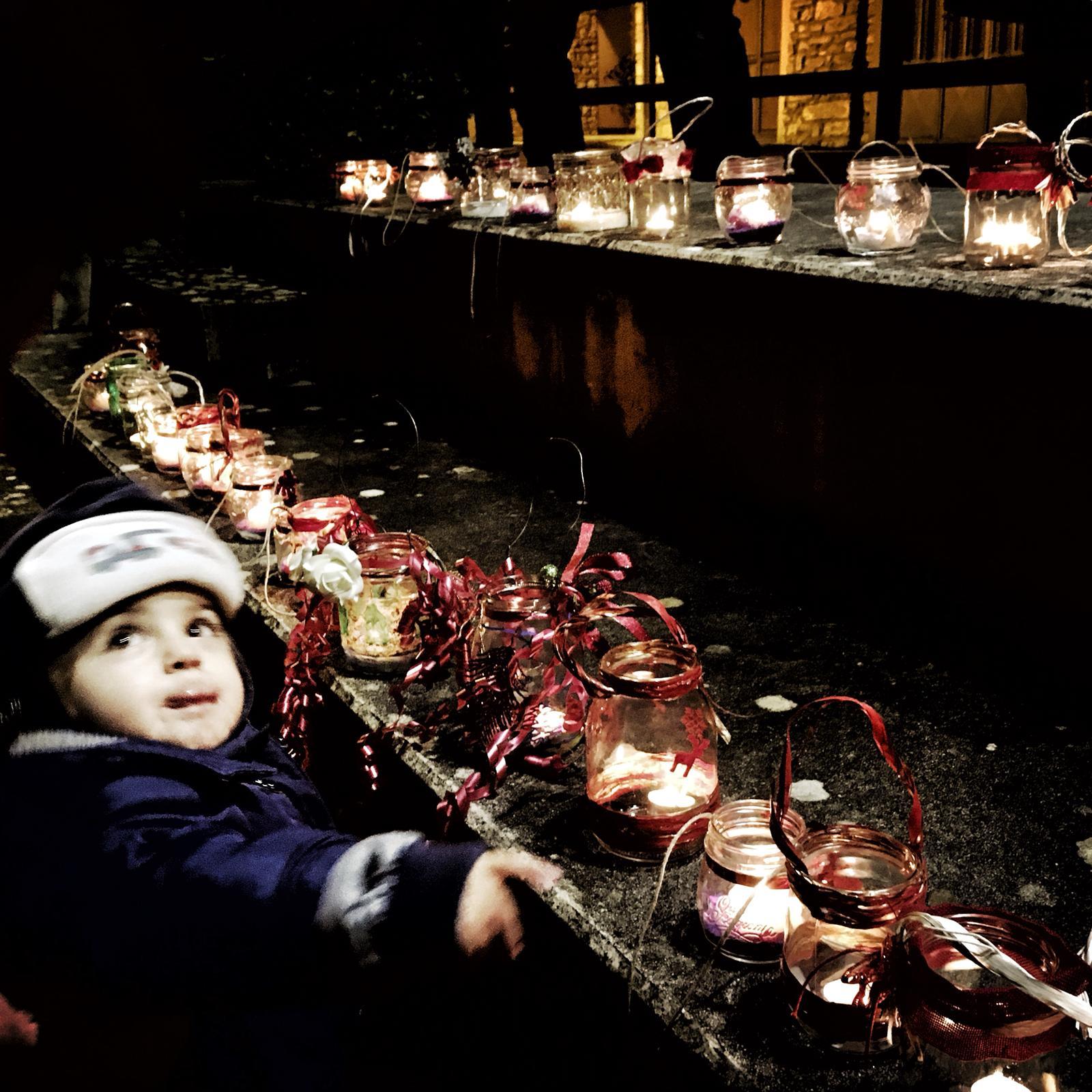 La luce delle lanterne