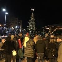 Festa in piazza la Vigilia di Natale 1