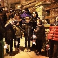 Camminata delle lanterne nel borgo storico 2