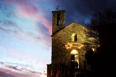 Tramonto sulla Chiesa di San Michele