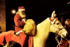 Babbo Natale a cavllo