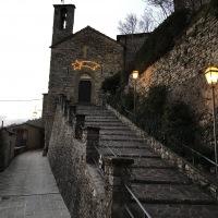 Tramonto sulla Chiesa di San Michele 2