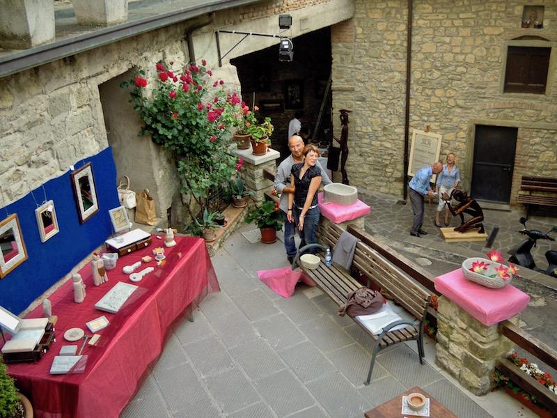 Mostra d'arte e antichi mestieri nel borgo 5