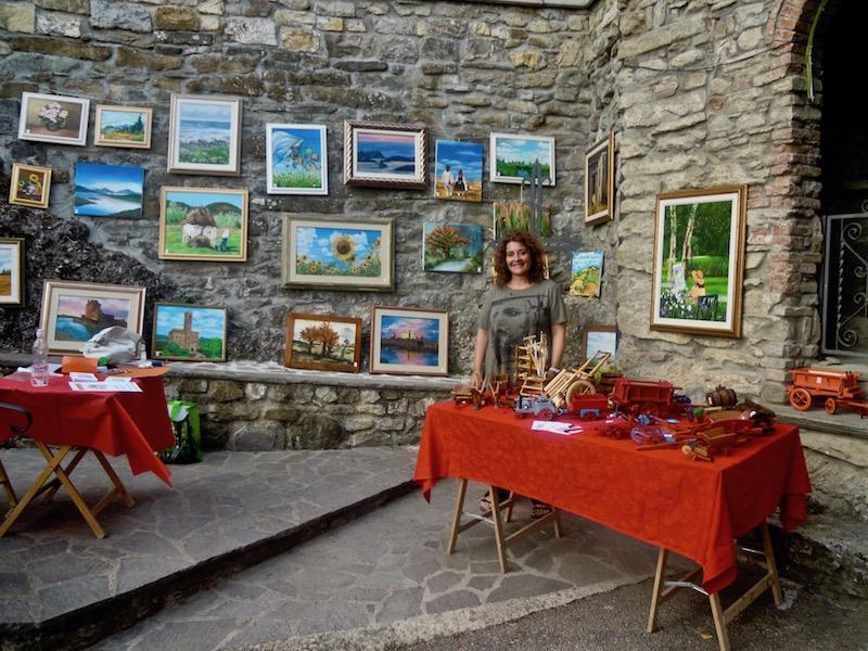 Mostra d'arte e antichi mestieri nel borgo 6