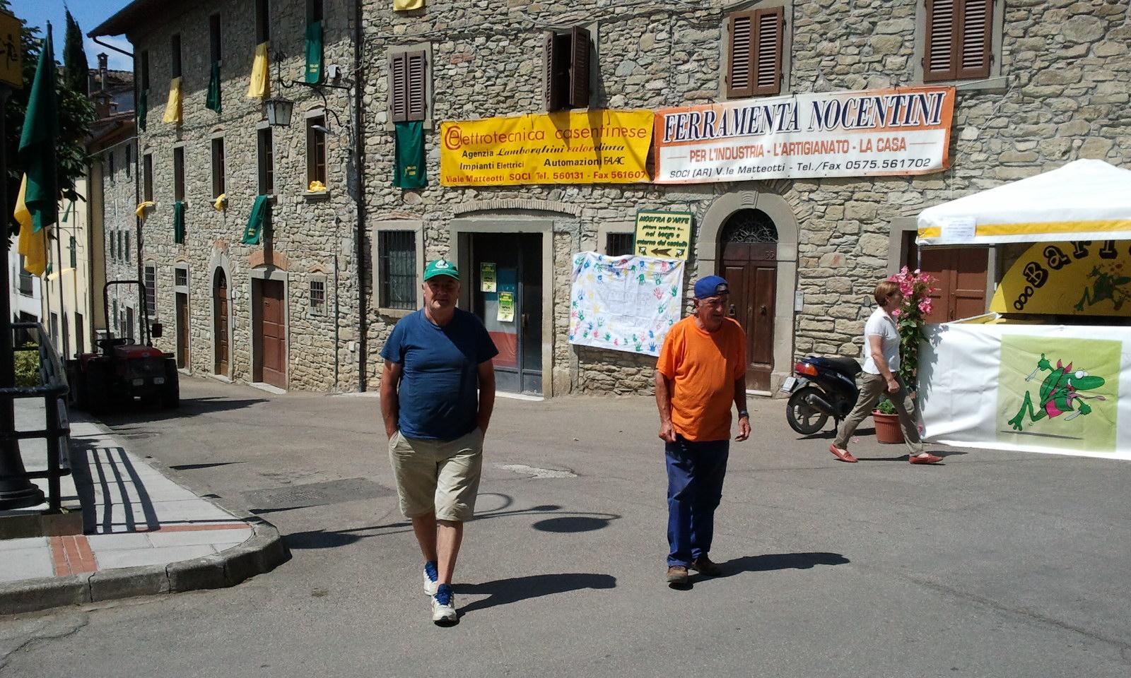 I parcheggiatori Gino e Piero