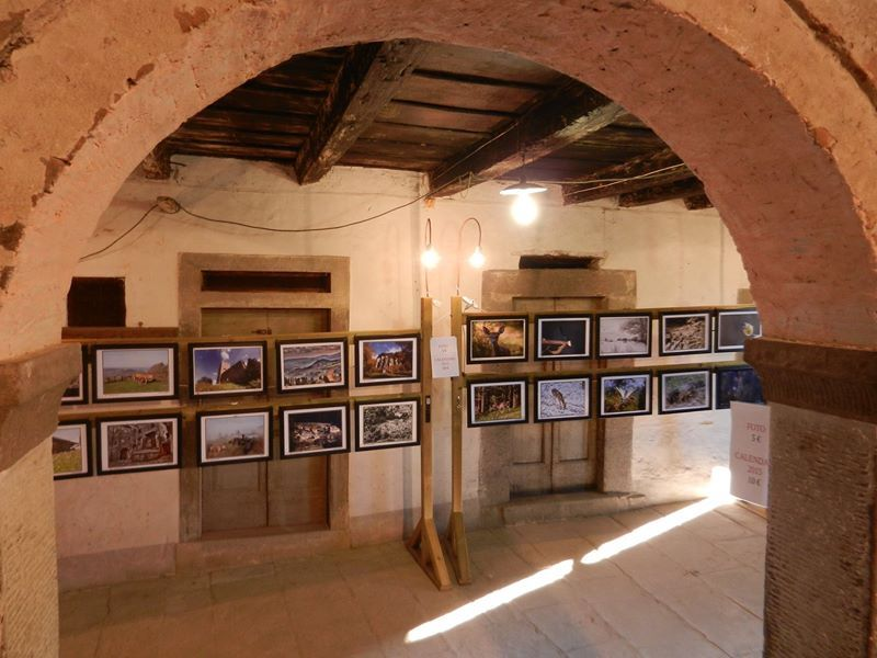 Mostra all'interno del castello