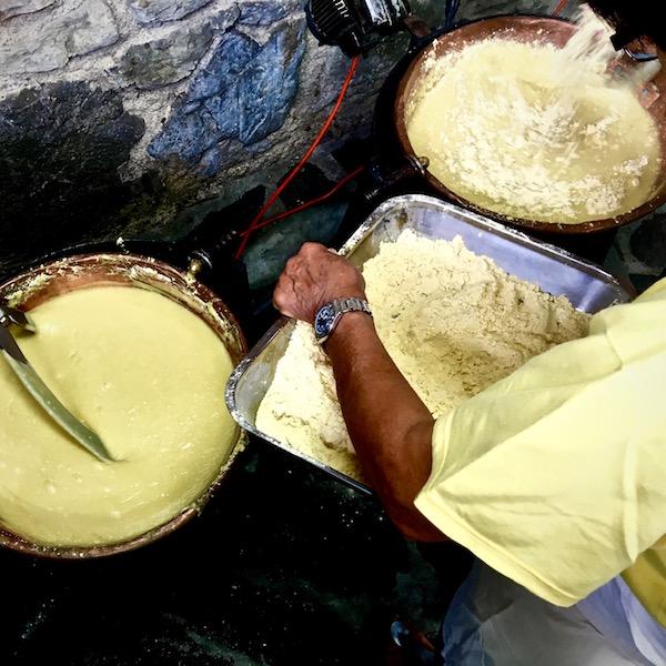 Polenta con farina molino terre Casentinesi